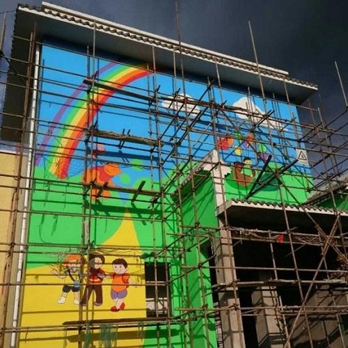 临沧幼儿园墙绘