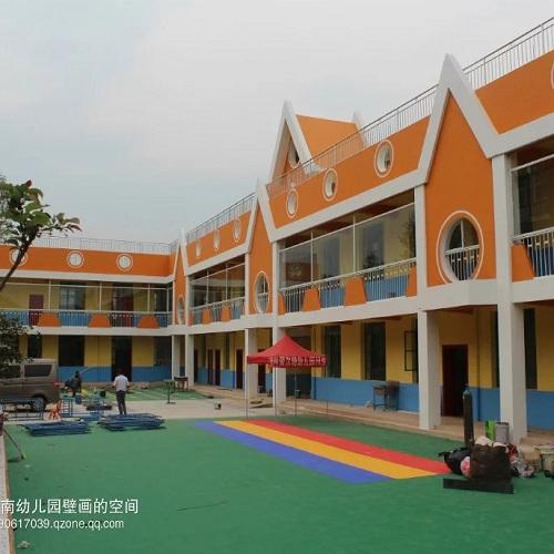 昆明市云尚爱尔特幼儿园墙体彩绘