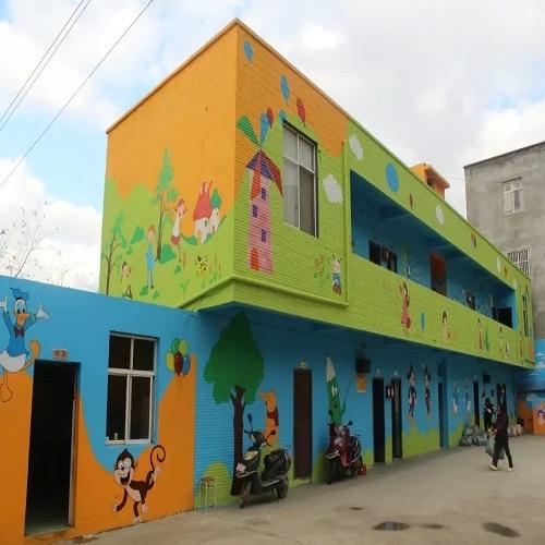 昆明市兴辉幼儿园墙体彩绘