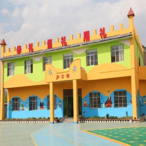 临沧市大板桥飞行幼儿园墙体彩绘