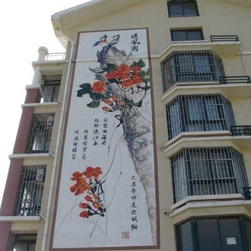 大理农村文化墙