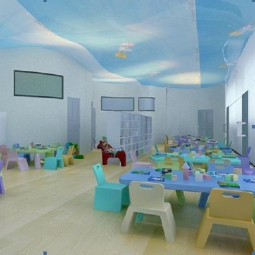 幼儿园翻新墙面