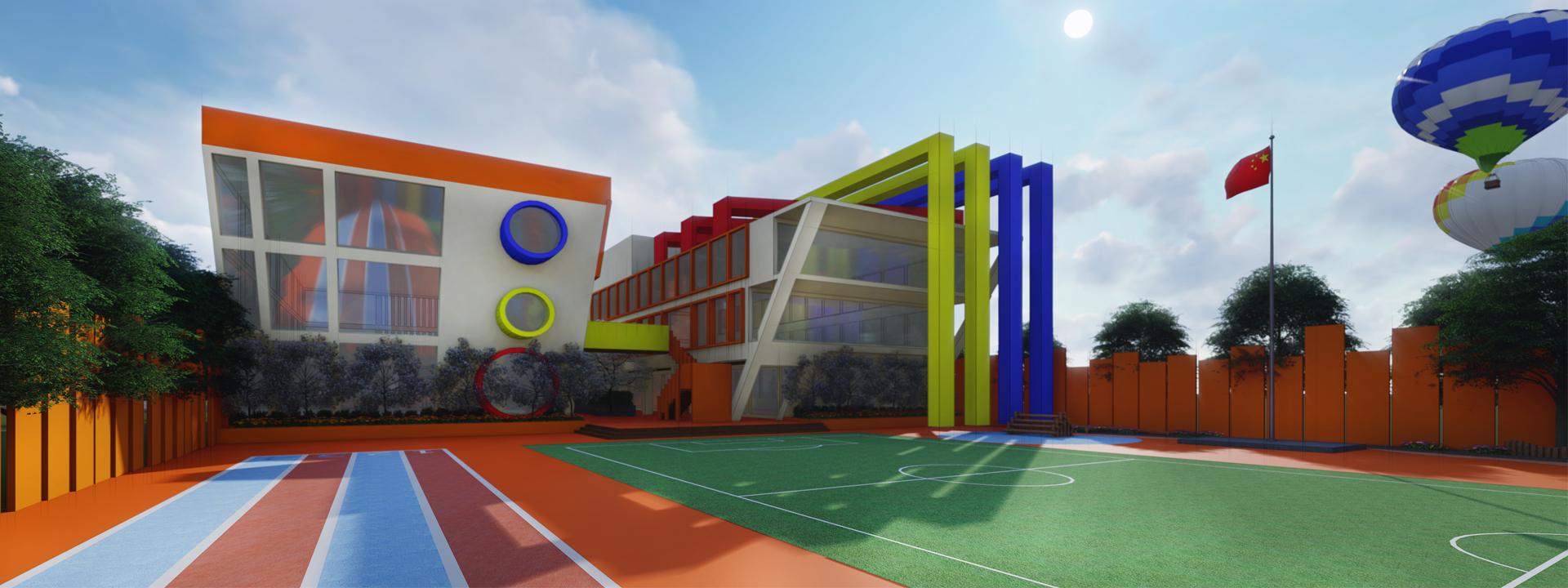 云南幼儿园设计